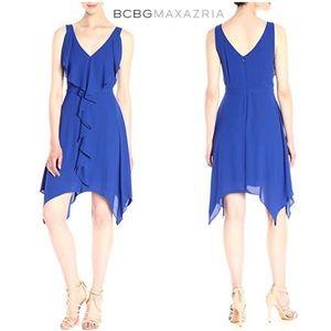 BCBG MaxAzria Jessica waterfall fit & flare dress